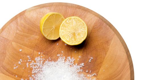 Dùng muối và chanh chữa viêm Amidan
