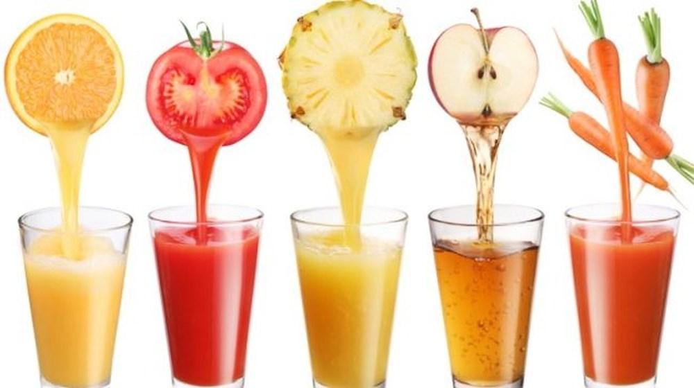 Dùng nước ép trái cây