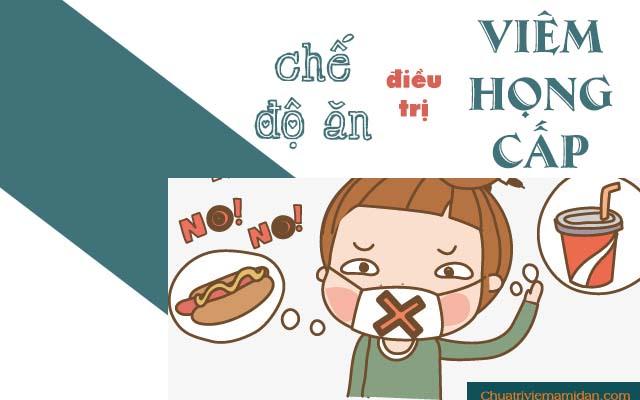 Chế độ ăn cho trẻ bị viêm họng cấp