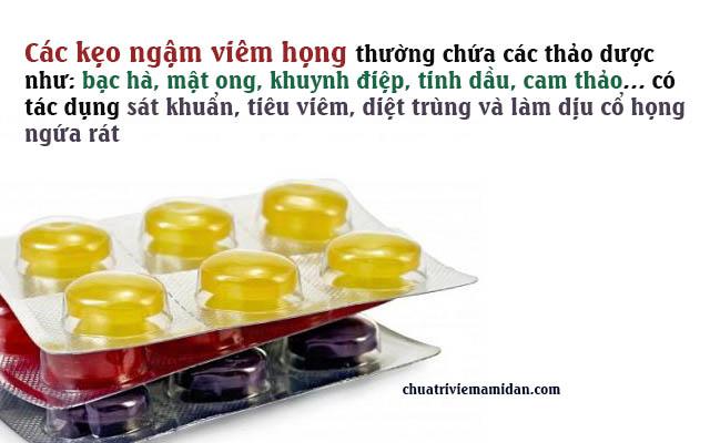 viêm họng nên uống thuốc gì