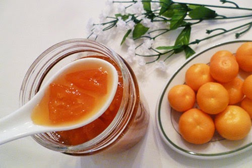 trị viêm Amidan bằngquất và mật ong