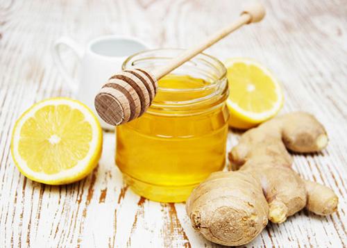 Chữa viêm Amidan bằng trà gừng mật ong