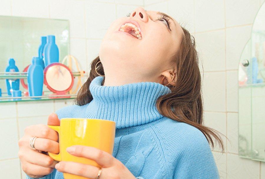 Лечения горла ребенка в домашних условиях