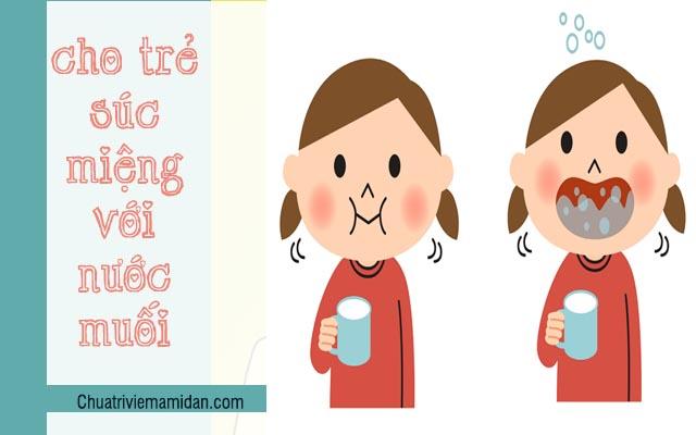 Chữa viêm họng cấp ở trẻ