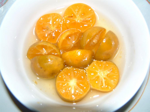 Chữa viêm Amidan bằng quất và đường phèn