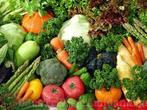 Bị viêm Amidan hốc mủ khi mang thai nên ăn nhiều rau xanh