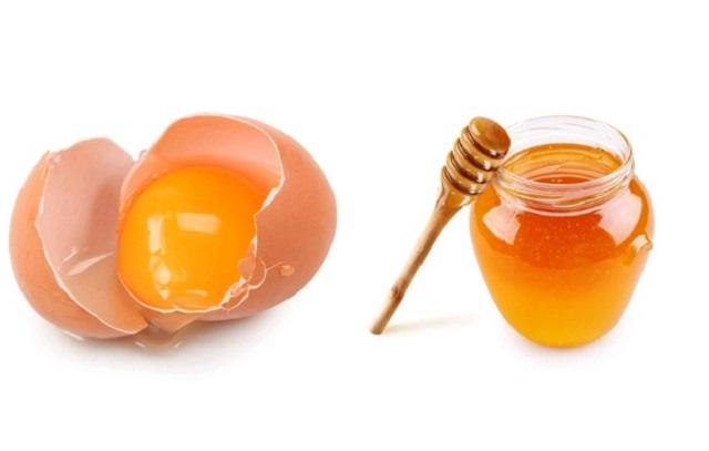 Điều trị viêm họng hạt bằng mật ong và trứng gà