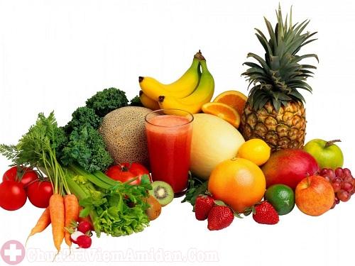 Bổ sung đầy đủ chất dinh dưỡng cho người viêm họng mãn tính