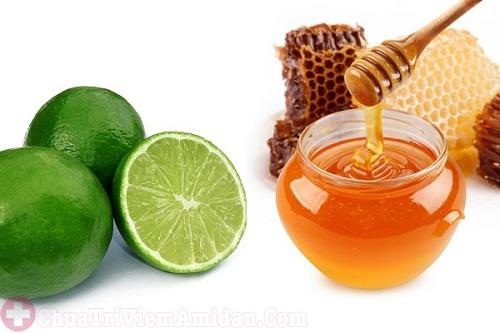 Mật ong với chanh giúp khử mùi hôi miệng hiệu quả
