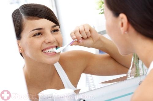 Sau khi cắt amidan khoảng 24 giờ được phép đánh răng