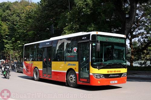 Các tuyến xe bus qua bệnh viện Tai Mũi Họng Trung Ương