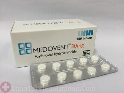 Thuốc medovent 30mg chữa viêm họng