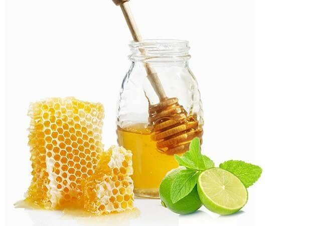 Chữa viêm amidan bằng mật ong và chanh tươi