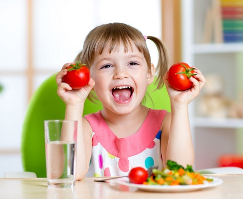 Trẻ bị viêm amidan nên ăn gì?