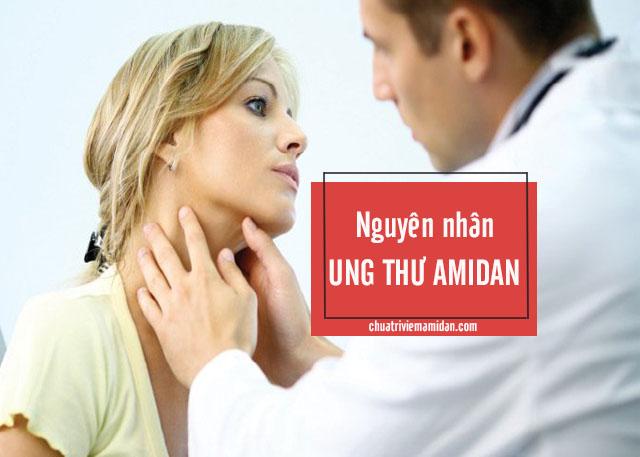 dấu hiệu của ung thư amidan