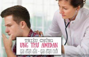 Triệu chứng ung thư amidan