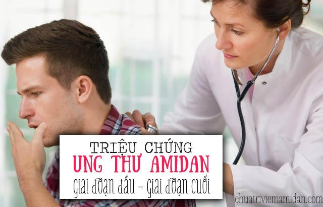 Triệu chứng ung thư amidan - ung thư amidan dấu hiệu